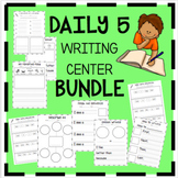 Daily 5- Writing Center