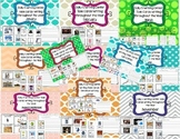 Daily 5 Writing Center Task Cards:ALL YEAR + Sentence Writing and List Editions!