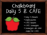 Center Expectations - Chalkboard Theme