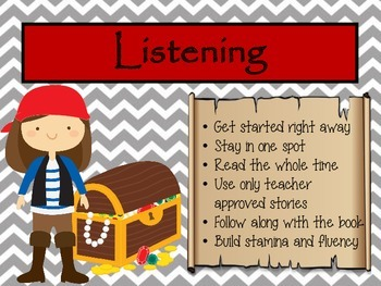 Center Expectations - Pirate Theme