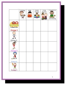 Elementary Education: Olympic Guided Reading and Daily 5