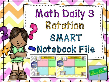 Daily 5 and Math Daily 3 Poster Set and Timer *BUNDLE*