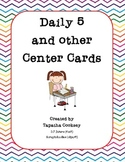 Daily 5 and other Centers