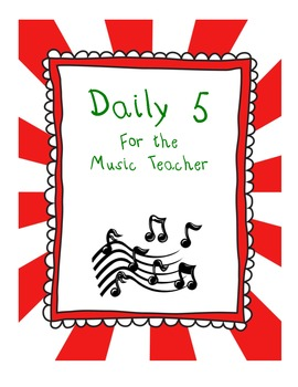 Daily 5 for Beginning Band