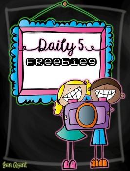 Daily 5 {freebie}