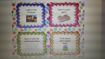 Daily 5 headers and class supplies