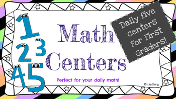 Daily 5 math centers
