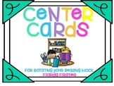 Daily 5 Center Rotation Task Cards