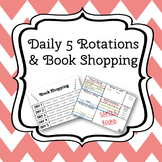 D5 inspired Center Rotations and book shopping schedule fo