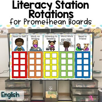 Daily 5 stations chart for SmartBoard