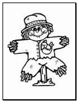 Daily 5 writing station - Wanted Scarecrow