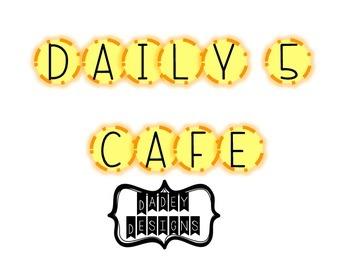 Daily 5/CAFE Bulletin Board