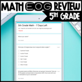 Daily 5th Grade Math EOG Daily Countdowns - Distance Learning