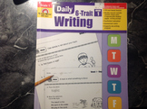 Daily 6-1 Trait Writing Grade 1