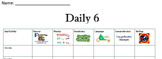 Daily 6 Chart