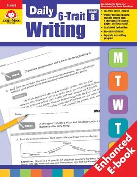 Daily 6-Trait Writing, Grade 8