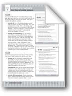 Daily 6-Trait Writing: Sentence Fluency: More Ways to Combine Sentences