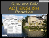 Daily ACT English Test Practice (Week 3)