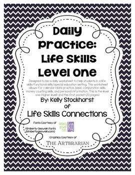 Daily Academic Practice: Life Skills