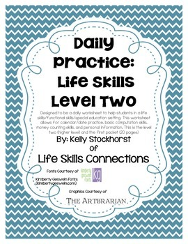 Daily Academic Practice: Life Skills (Level 2)