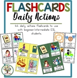 Flashcards Daily Actions
