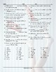 Daily Activities Missing Letters Worksheet
