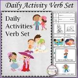 Daily Activities Verb Set