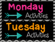 Daily Activity Banners