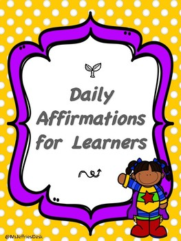 Daily Affirmations for Learners
