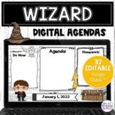 Daily Agenda Digital Templates | Editable Harry Potter Goo