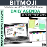 Daily Agenda Google Slides Distance Learning