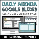 Daily Agenda Google Slides - Editable Templates | ALL-ACCE