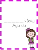 Daily Agenda Printable for your KIDS!!!!!!