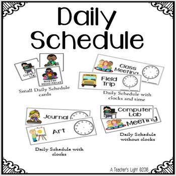 picture about Daily Agenda named Day-to-day Timetable Timetable Playing cards