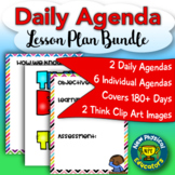 Daily Agenda Set for Physical Education, Elementary