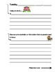 Daily Agenda Sheets; printable sheets for special education students
