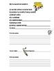 Daily Agenda Sheets; printable sheets for special educatio