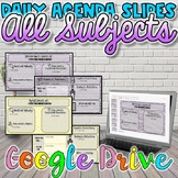 Daily Agenda Slides-For use with ANY Subject {Digital}