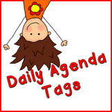 Daily Agenda Tags