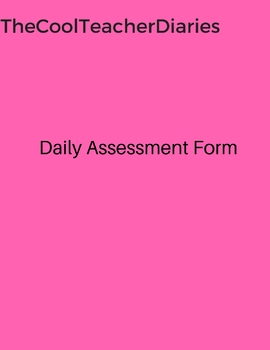 Daily Assessment Form