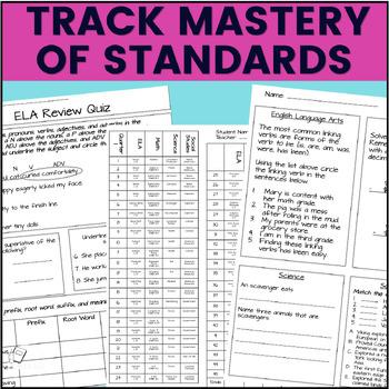 Morning Work: Third Grade Set 4 (ELA, Math, Science, and Social Studies)