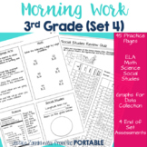Morning Work: Third Grade Set 4 (ELA, Math, Science, and S