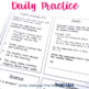 3rd Grade Morning Work - Quarter 1  (ELA, Math, Science, and Social Studies)