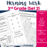 Morning Work: Third Grade Set 3 (ELA, Math, Science, and S