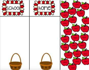 Daily Attendance: Apple Theme