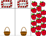 Daily Attendance: Apple Theme