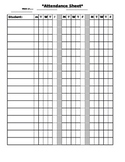 Daily Attendance Chart