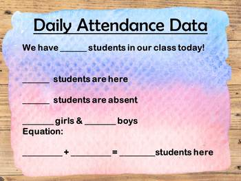 Daily Attendance Data