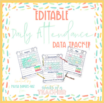 daily attendance trackers by kayla borges vaz must be first tpt