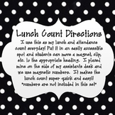 Daily Attendance and Lunch Count